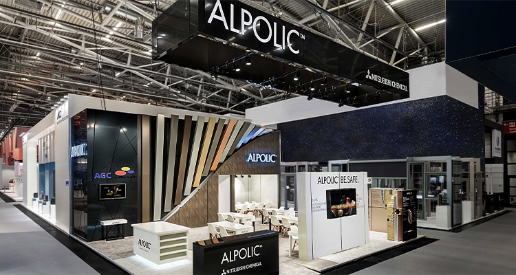 ALPOLIC™ Messestand