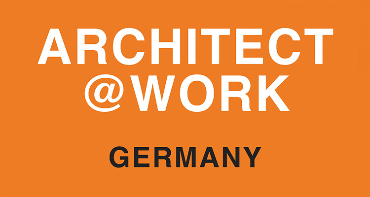 Logo architect@work, Germany